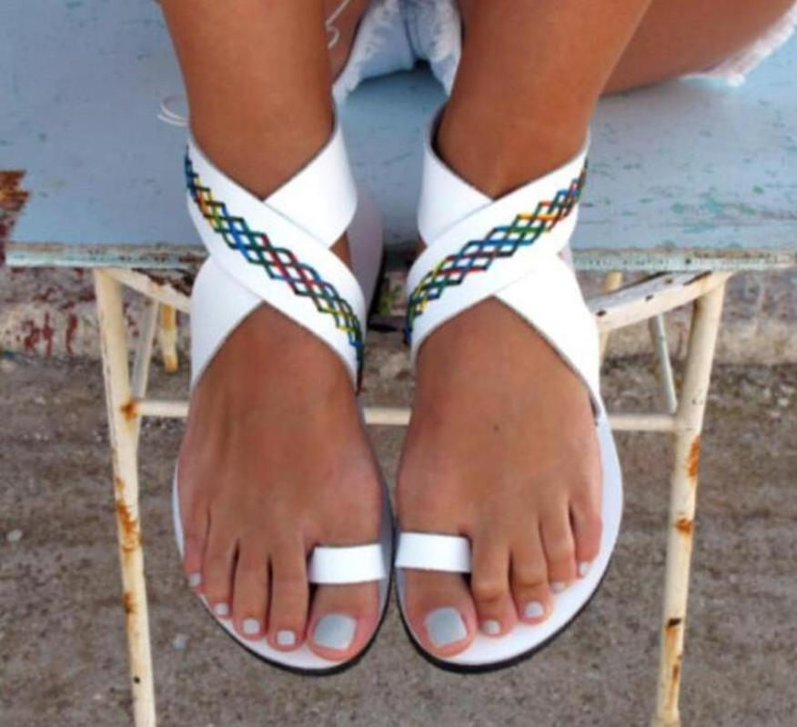 Beach Leisure  Ankle Strap Sandals