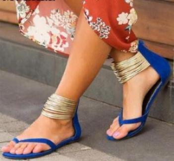 Ankle Wrap Boho Sandals