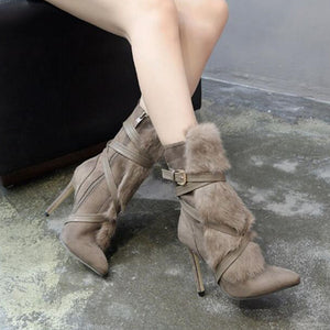 Strap Ankle Boots