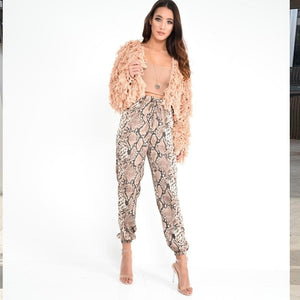 Animal Pattern Trousers