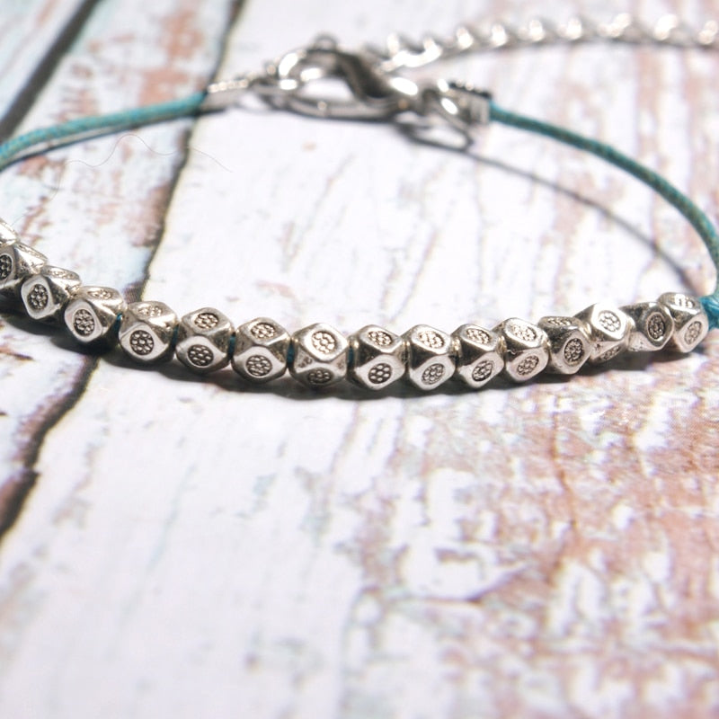 Natural Stone Shell Anklet