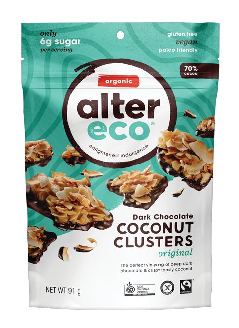 Discover what happens when our 70% dark chocolate meets crisp, toasty coconut.