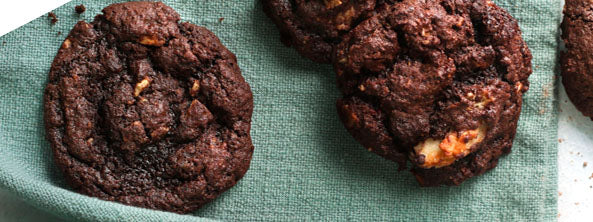Chocolate Coconut Cluster Cookies Article