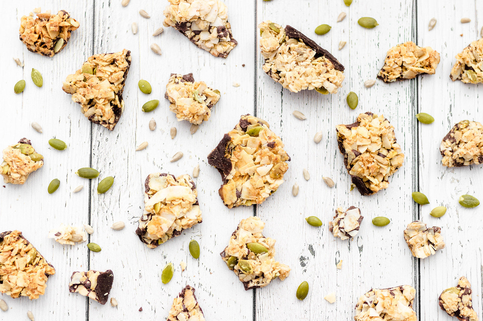 Seeds & Salt Coconut Clusters Banner
