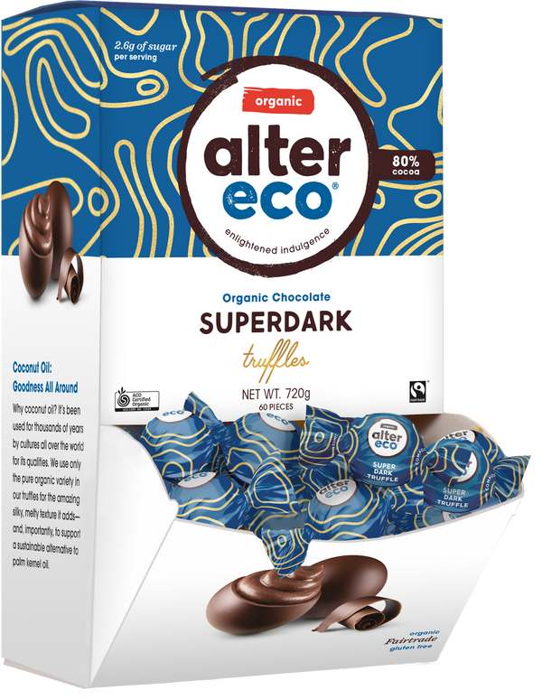 Superdark Truffles (60 Piece) Package