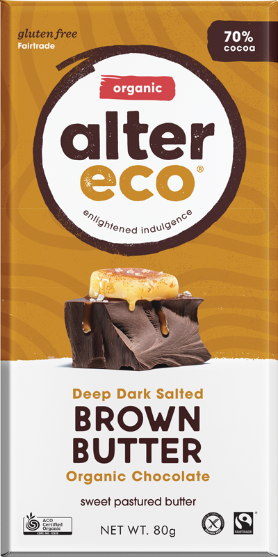 Deep Dark Salted Brown Butter Package