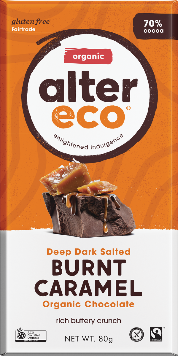 Deep Dark Salted Burnt Caramel Package