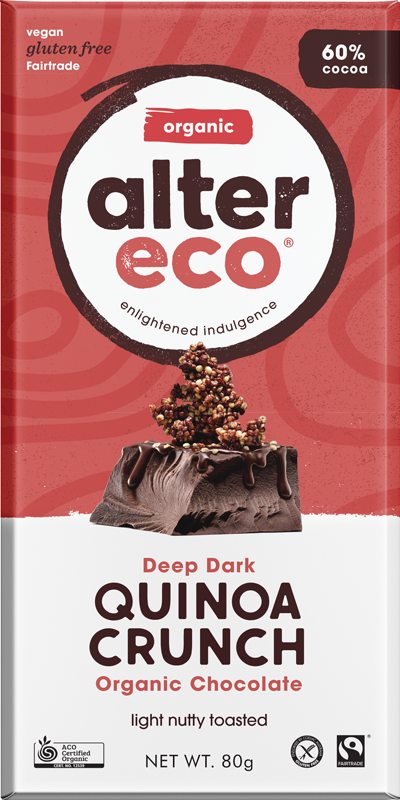 Deep Dark Quinoa Crunch Banner