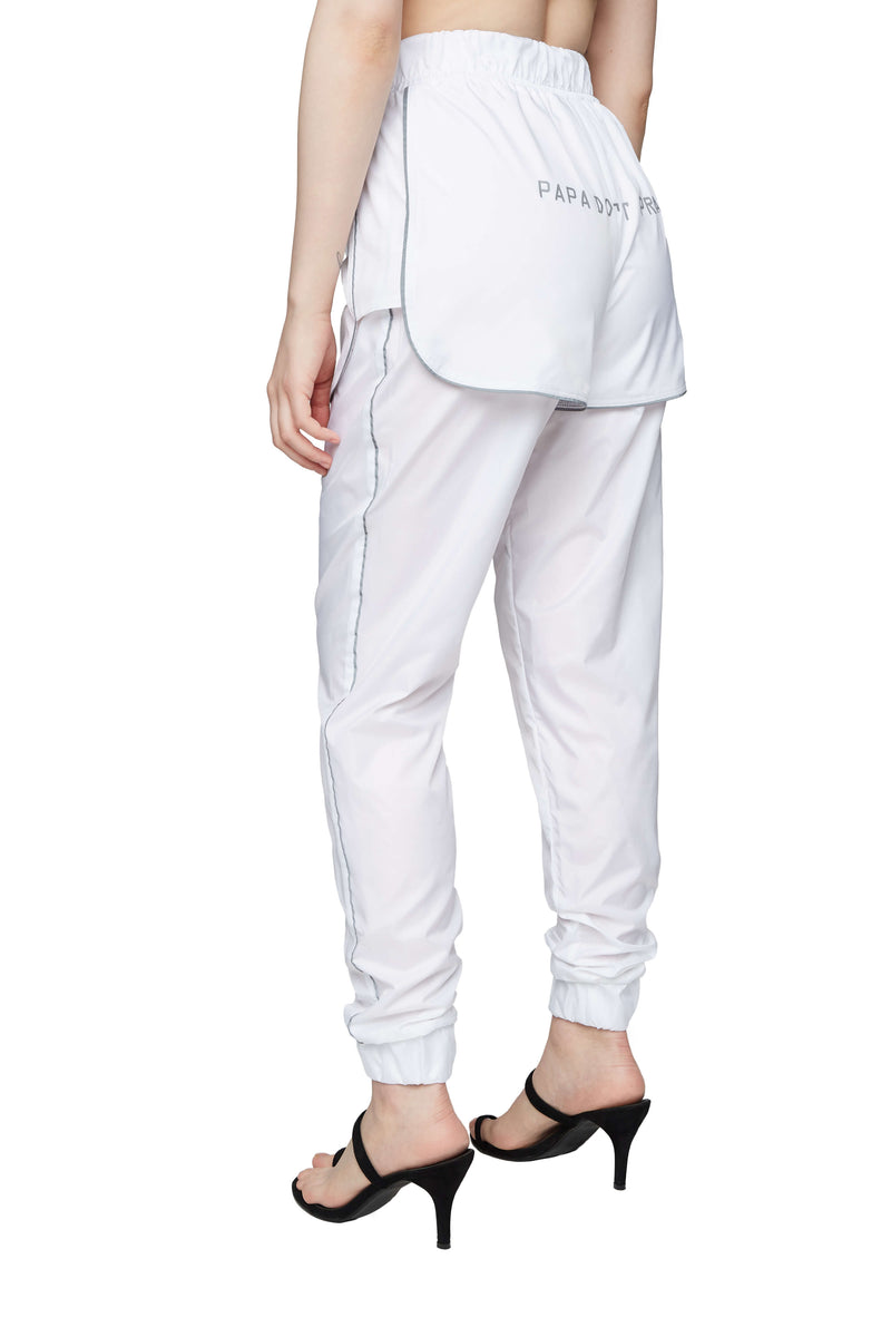 PEARL TROUSERS WHITE