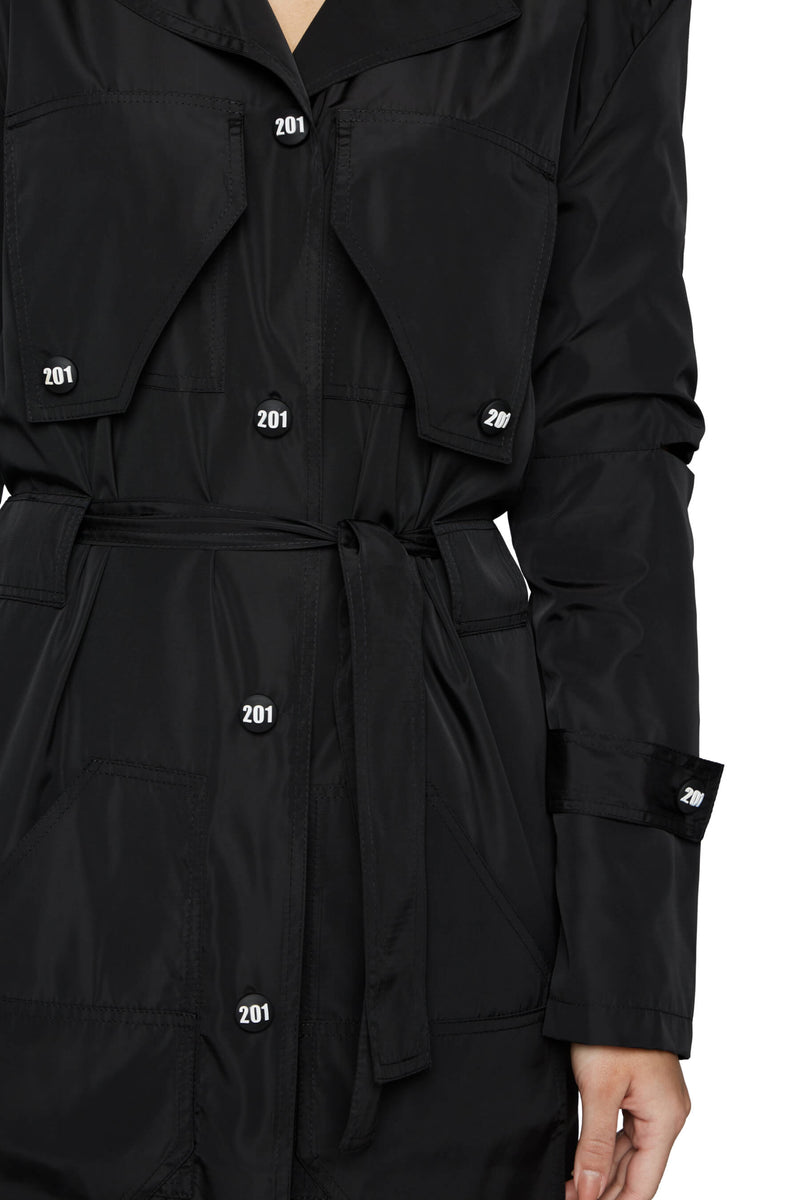 COVER COAT BLACK