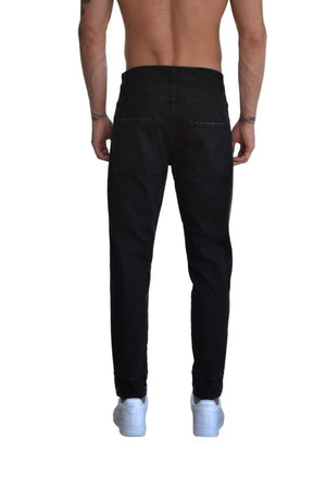 WHISKY TROUSERS DARK DENIM