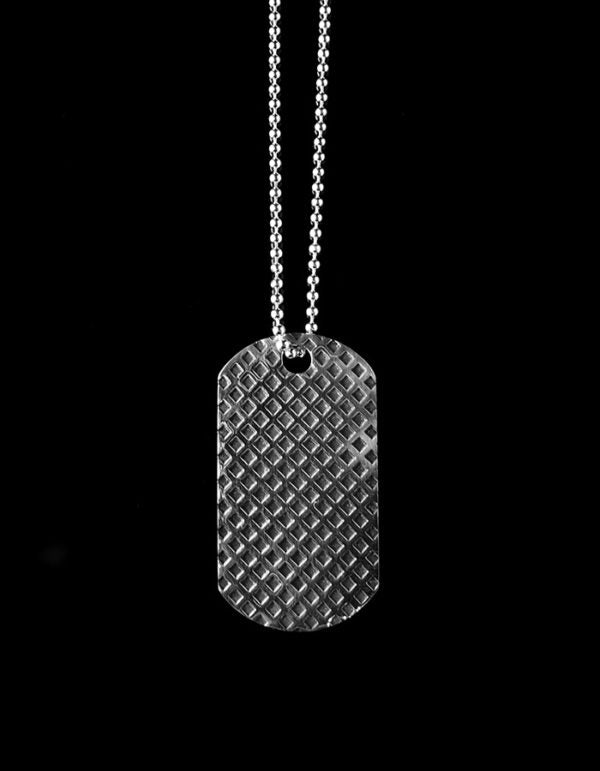 "DOG TAG ""GRID"""