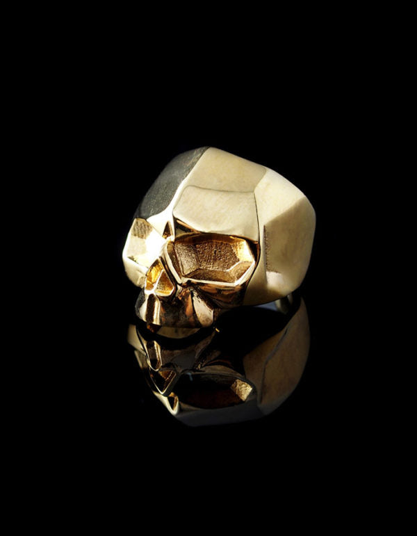 """GOLDIE"" SKULL RING – SMALL"