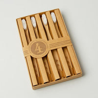 Bamboo Toothbrushes (Set of Four) - Months