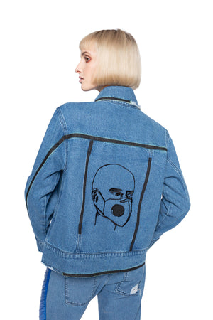 SMOG JACKET BLUE DENIM. 201 RESPECT.