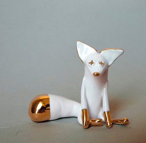 Porcelain fox
