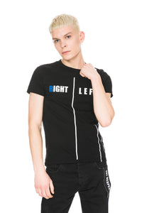 LEFT|RIGHT T-SHIRT BLACK