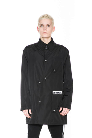 OUTDOOR COAT BLACK
