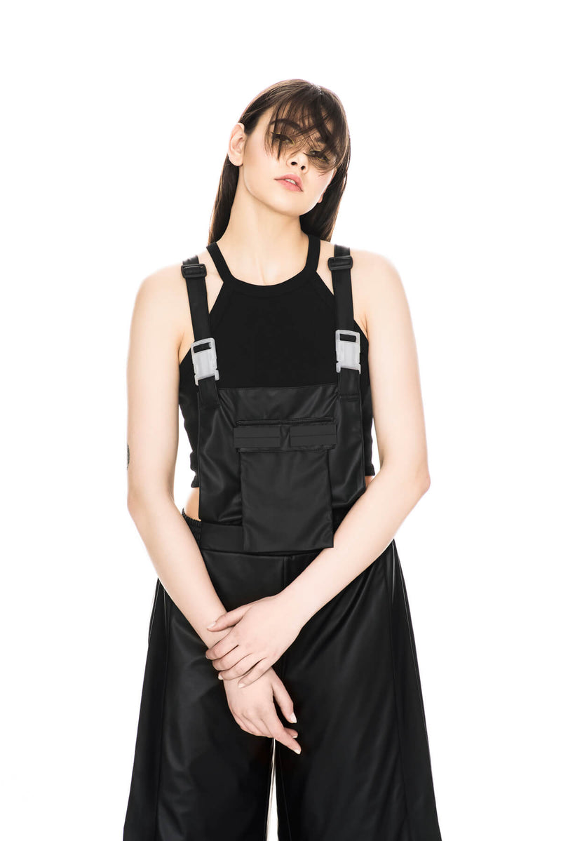 SLIP JUMPSUIT BLACK