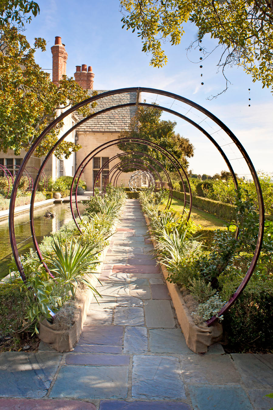 Grace Design Associates, The Award Winning Santa Barbara Landscape Design  Firm, Has Integrated 14 Gracie Modern Arbors Into The Public Gardens Of The  Iconic ...