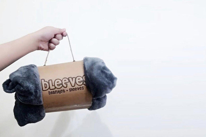 News-Gift Guide: 10 Gifts for Every Type of Coworker - Bleeves | Wearable Blanket with Sleeves