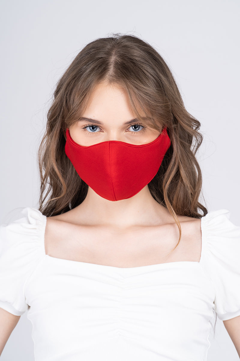 The Perfect Face Mask - Feisty Red