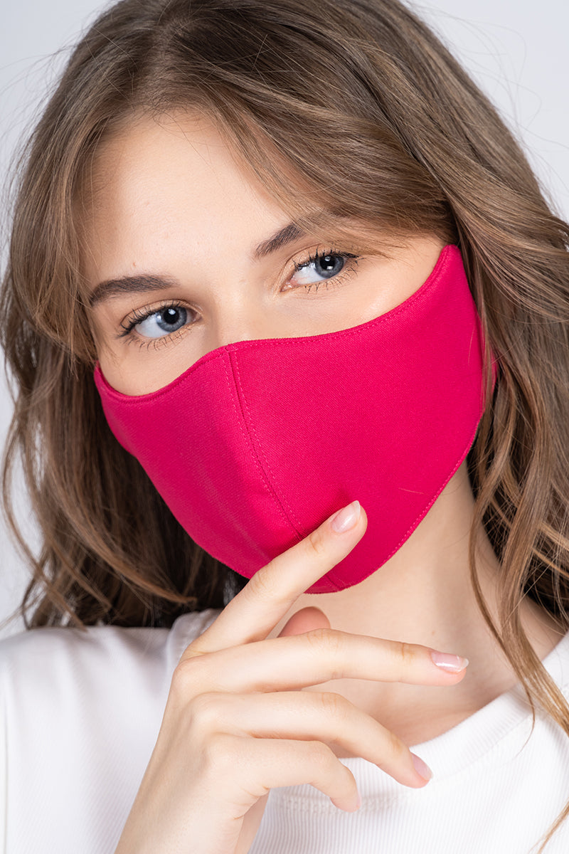 The Perfect Face Mask - Hot Pink