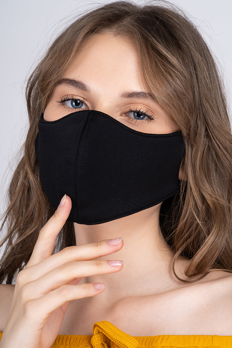 The Perfect Face Mask - Jet Black