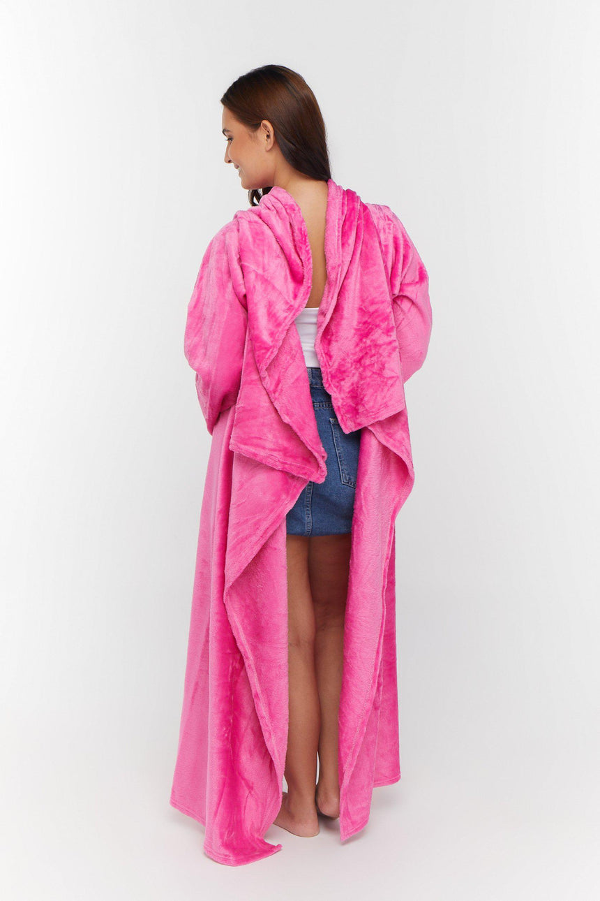 Regular Design No. 505 - Bleeves | Wearable Blanket with Sleeves