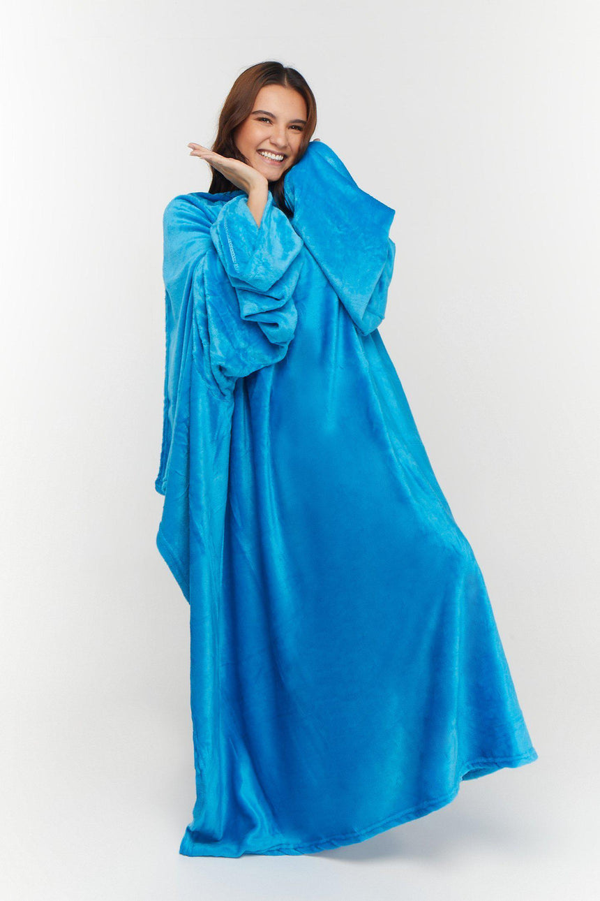 Regular Design No. 515 - Bleeves | Wearable Blanket with Sleeves