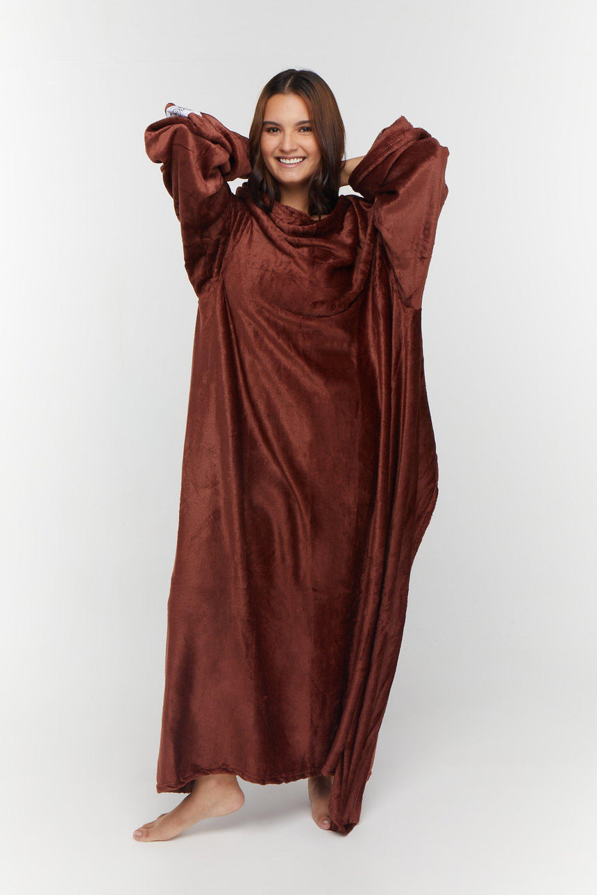Regular Design No. 516 - Bleeves | Wearable Blanket with Sleeves