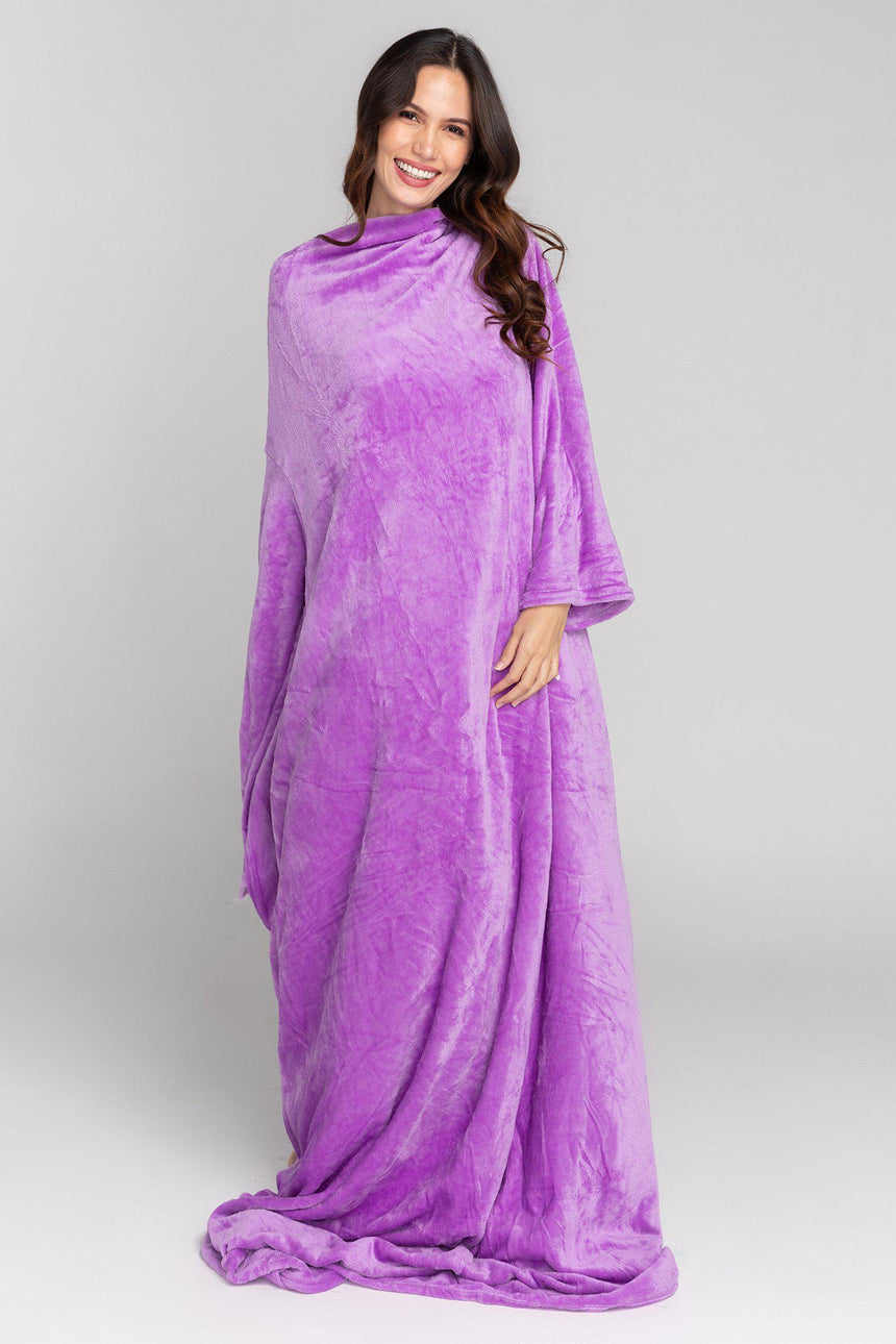 Xtra Long Design No. 502 - Bleeves | Wearable Blanket with Sleeves