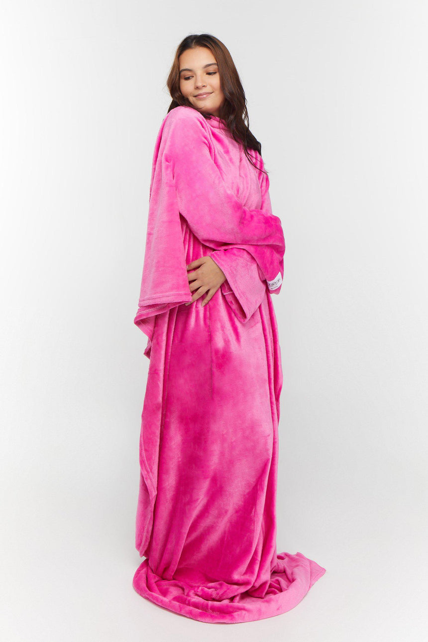 Xtra Long Design No. 505 - Bleeves | Wearable Blanket with Sleeves