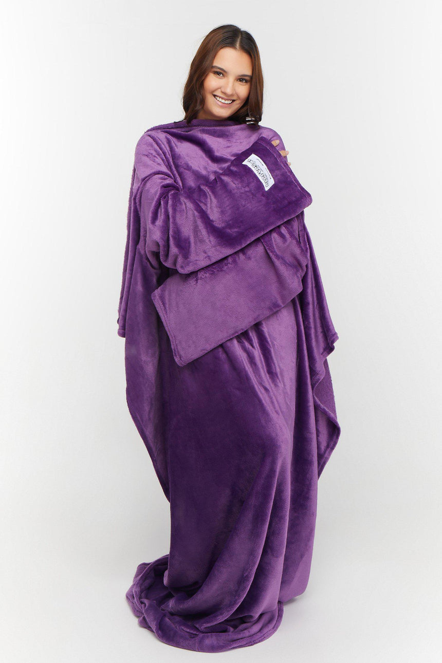 Xtra Long Design No. 524 - Bleeves | Wearable Blanket with Sleeves