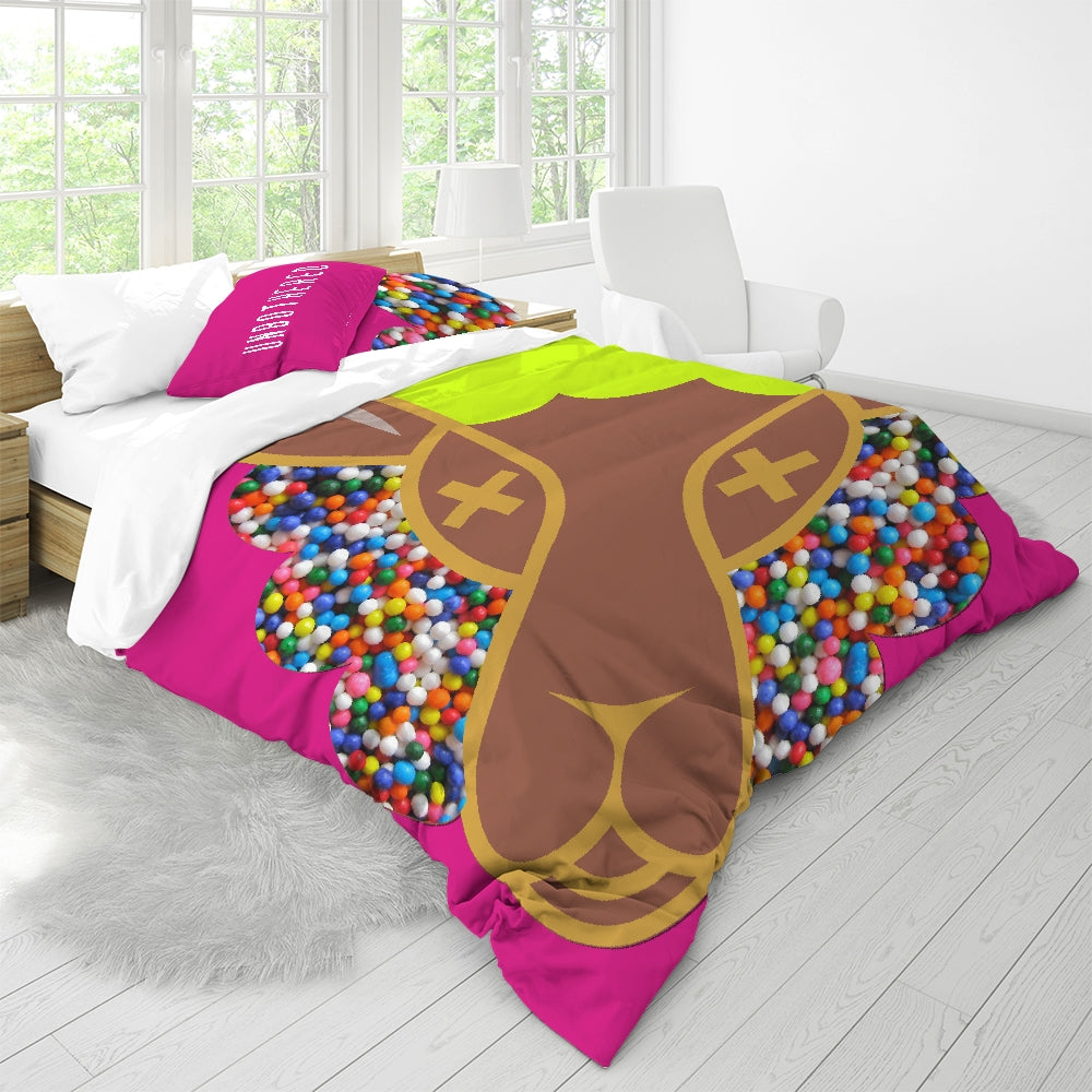 Un Queen Size Duvet Cover Set