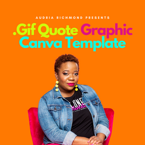 .Gif Quote Graphic Canva Template