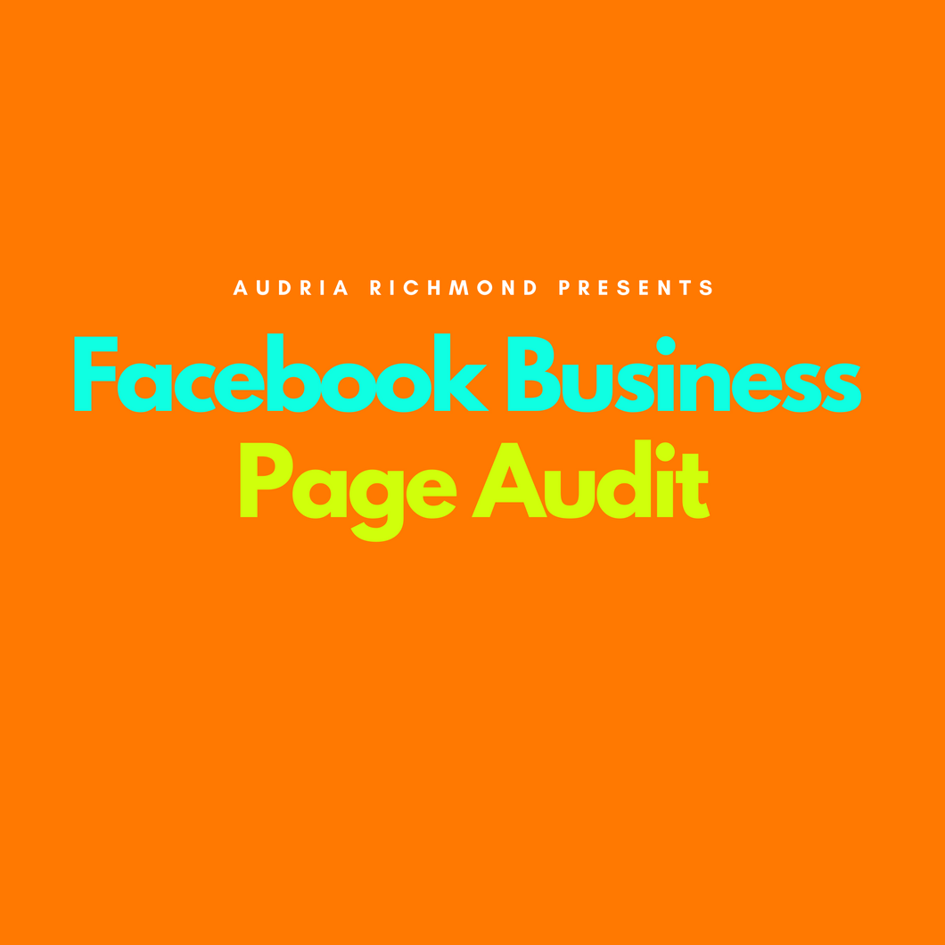 Facebook Business Page Audit