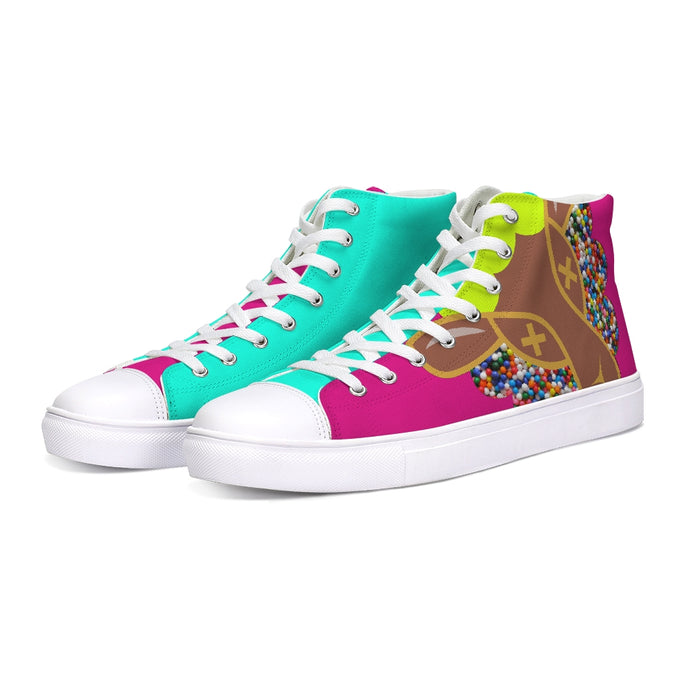 Un Hightop Canvas Shoes