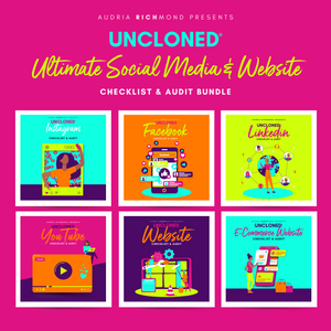 UnCloned® Ultimate Social Media and Website Audit Bundle