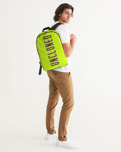 Un Lime Classic Large Backpack