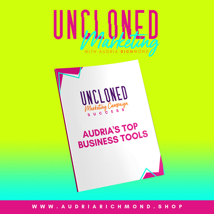 Audria's Top Business Tools