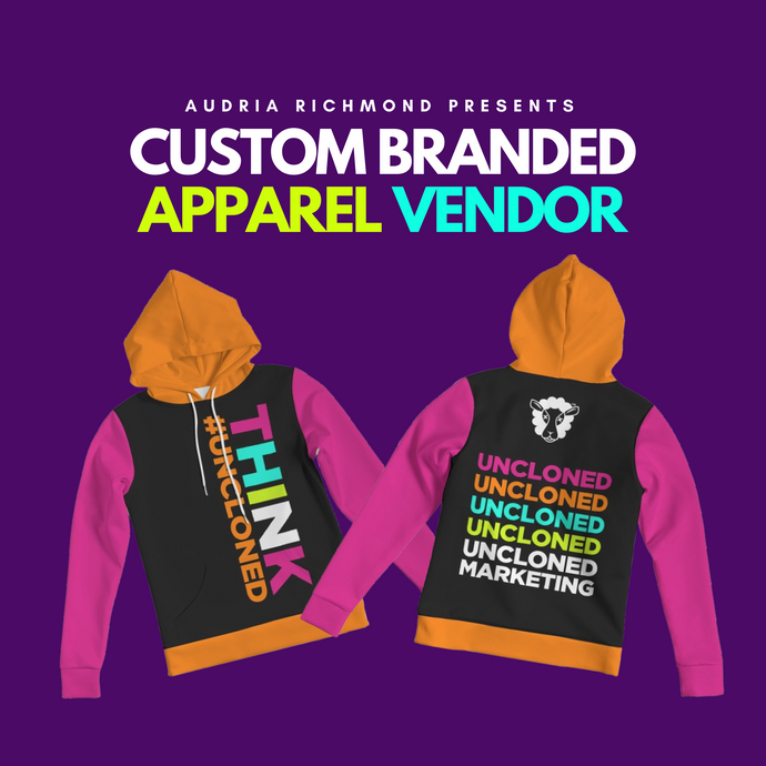 Custom Branded Apparel Vendor + Video Tutorial