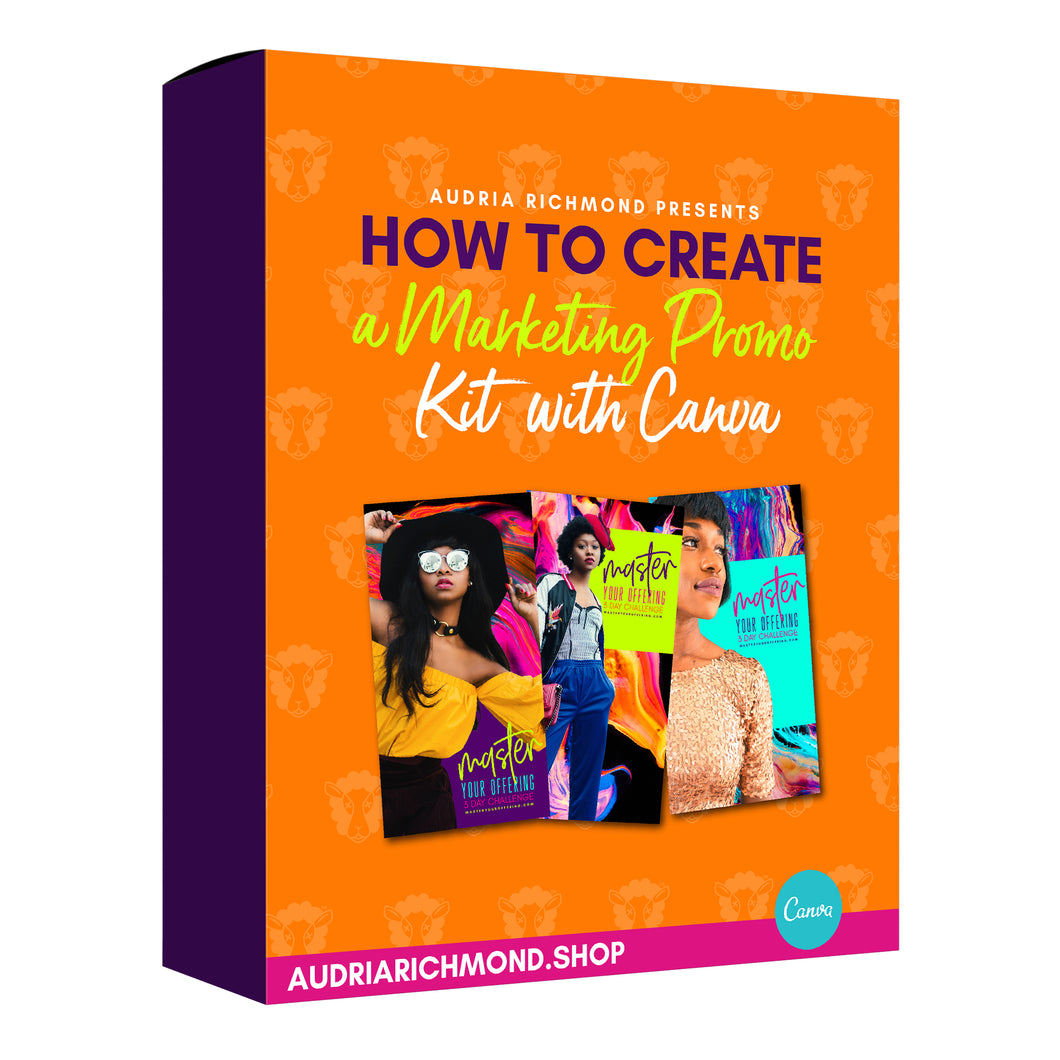 How to Create a Marketing Promo Kit with Canva