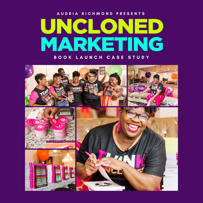 UnCloned Marketing Book Launch Case Study