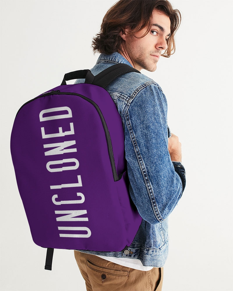 Un Purple Classic Large Backpack