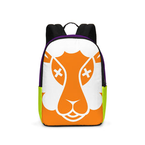 Un Orange Cream Backpack/ Laptop Bag