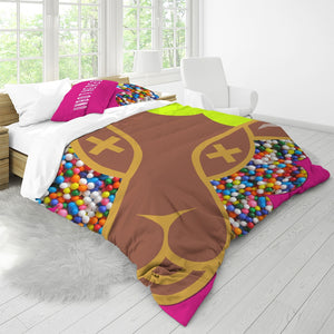 Un King Size Duvet Cover Set