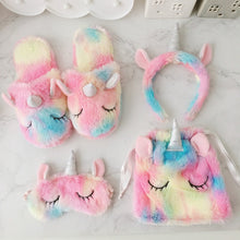 Load image into Gallery viewer, Unicorn slipper set
