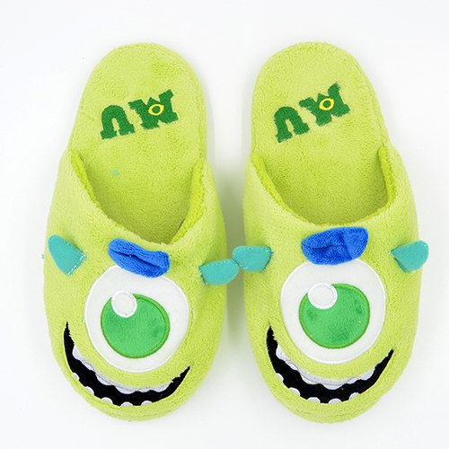 Lady's Cute Monster Slippers.