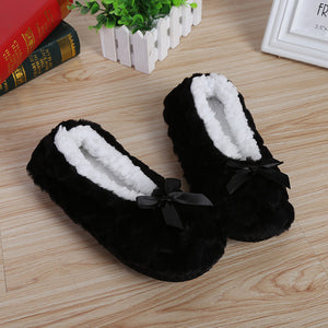 Women's Winter Bow-knot Slippers.